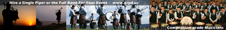 Bagiper Bagpipes Richmond Virginia Hire